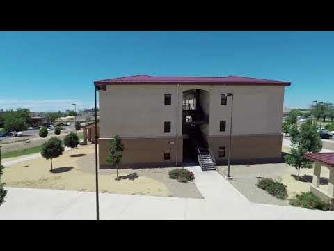 Cannon AFB Dorms
