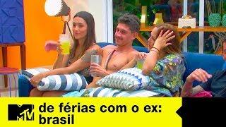 Recalque? Fábia beija Cleber e deixa Ste pistola | De Férias Com O Ex Brasil Ep. 08