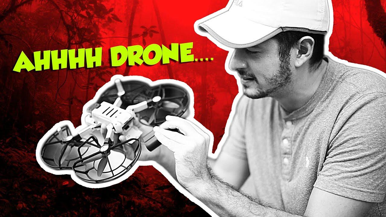 Levei o drone pro mato e foi isso que aconteceu!