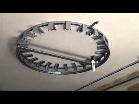 видео: Короб и круг из ГКЛ