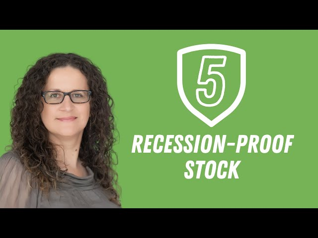 5 Recession-proof Stock to Buy this year (2020)