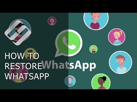 How To Restore Chat History And Media Files In WhatsApp 💬📁⚕️