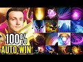 Best invoker of Dota MIRACLE combo skill 100% Invoke Carry Gameplay