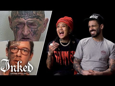 Tattoo Artists React To Mugshots Part 2 | Tattoo Artists React