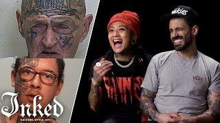 Tattoo Artists React to Mugshots Part 2 | Tattoo Artists React