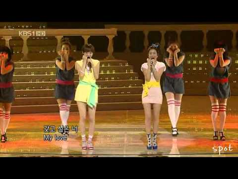 [DET/girlshigh] Davichi - My Man All Performances