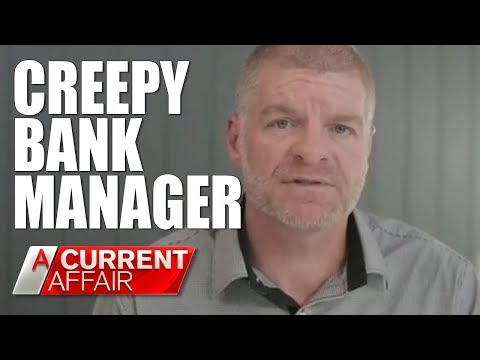 Creepy Banker Harassing Female Clients