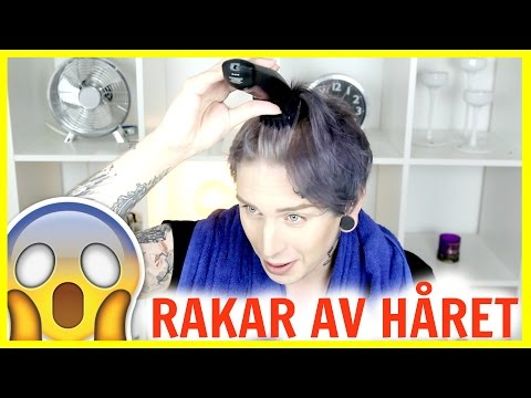 JIMMIE TESTAR: Raka av håret (FAIL!!)