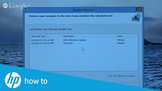 HP Expert Day - How to Prepare for System Backup and Recovery