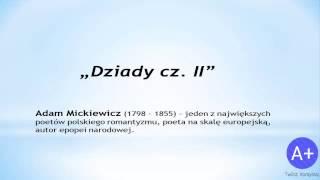 Lektury: Dziady cz. II