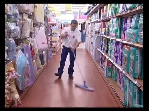 Vidéo de agent/e de propreté et d'hygiène