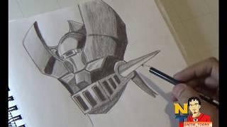 Drawing Mazinger Z (Dibujando a Mazinger Z) NITO OCHOA