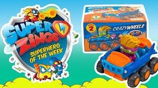 Super Zings seria 2 ⚡ Crazy Wheels ⚡ Mega SUPER pojazdy