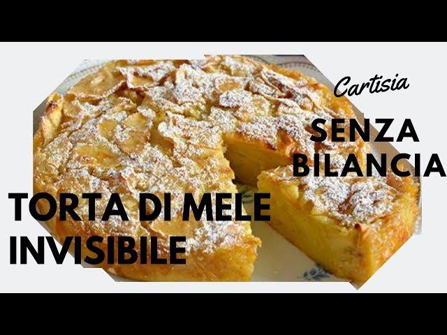 Torta di Mele Invisibile Senza Bilancia e senza burro