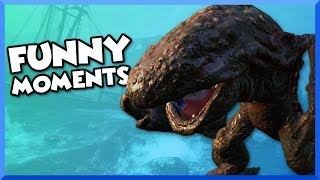 Fallout 4 Far Harbor Funny Moments - Missing Girl, Creepiest Island Ever, and Giant Salamanders!