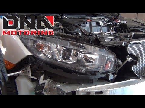 How to Install 16-18 Honda Civic Headlights