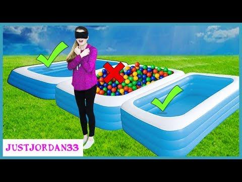 Don't Trust Fall Into Wrong Mystery Pool / JustJordan33