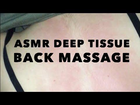 Deep Tissue Back Massage ASMR (Back Pain)