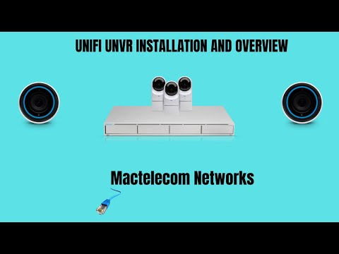 Unifi UNVR Installation And Overview