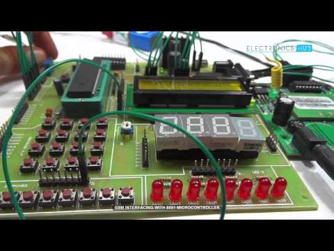 GSM Interfacing with 8051 Microcontroller