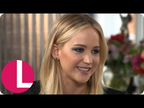 Jennifer Lawrence Clears Up Her BAFTA Incident with Joanna Lumley | Lorraine