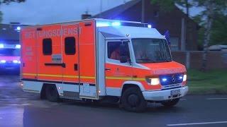[SELTENE EINSATZFAHRT] - Task Force Hochinfektionstransport BF Düsseldorf - [EBOLA ERNSTFALL]