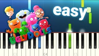Why Don't We - Don't Change (Ugly Dolls) 100% EASY PIANO TUTORIAL