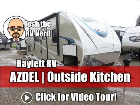 2019 Coachmen 257BHS Freedom Express AZDEL Ultralite Extra Tall Outside  Kitchen Bunkhouse Camper