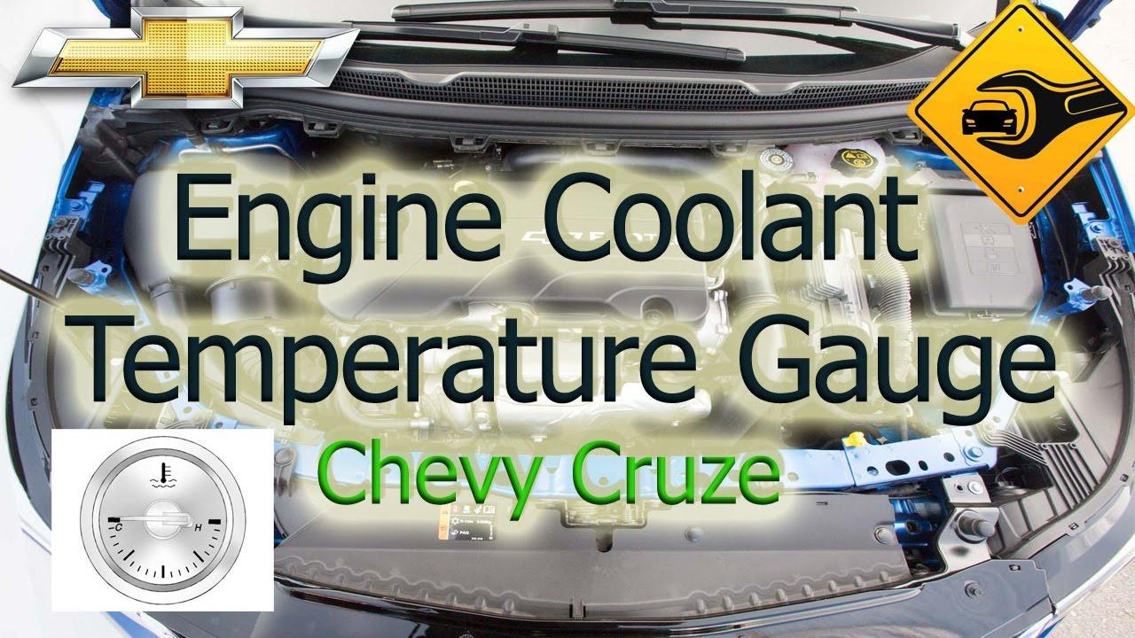 medium resolution of engine coolant temperature gauge chevrolet cruze youtube