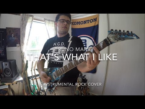 Bruno Mars - That's What I Like (Instrumental Rock Cover)