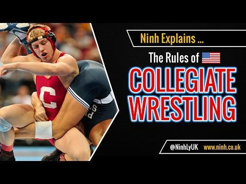 The Rules of Collegiate Wrestling (NCAA College Wrestling) - EXPLAINED!