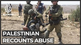 Palestinian activist recounts moment of viral arrest video