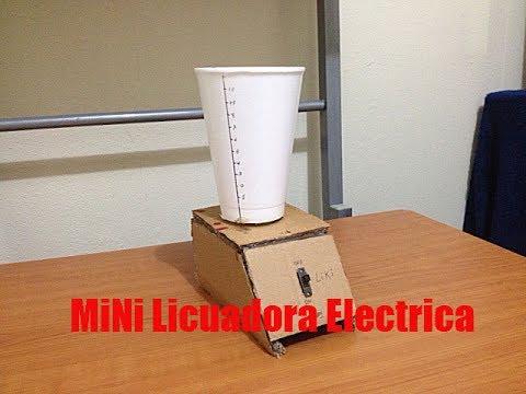 Como hacer una mini licuadora casera youtube for Como construir piletas de material