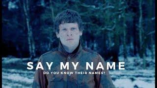 multifandom | say my name