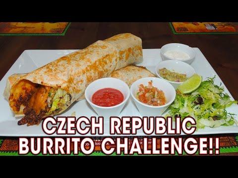 MAXI BURRITO CHALLENGE IN CZECH REPUBLIC!!