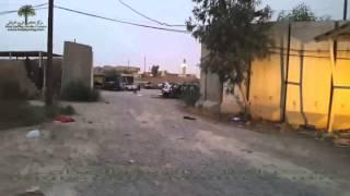 Police Compound Burnt in Iraqi town of Baiji
