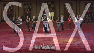 "Fleur East ""Sax"" Choreography   @brianfriedman Pulse On Tour Atlantic City"