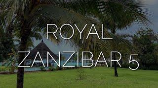 Обзор отеля Royal Zanzibar 5 остров после карантина 2020 пляж Нунгви без отливов