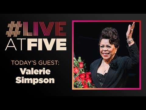 Broadway.com #LiveatFive with Valerie Simpson of CHICAGO