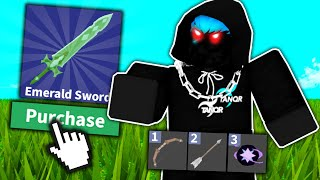 I became the STRONGEST player in Roblox Bed Wars..