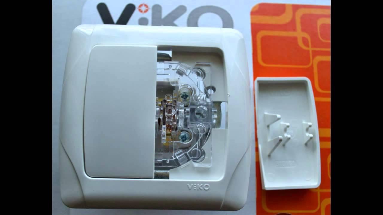 Viko схема выключателя
