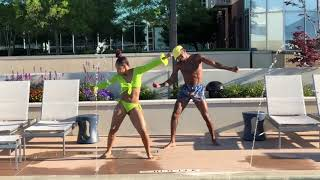 Beyonce Before I Let Go Dance Challenge | Amerah & Anthony #BeforeILetGoChallenge