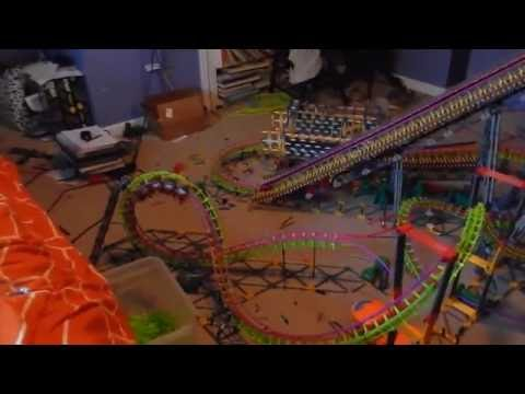 Summer Heat Winged Coaster Test 4 - Custom Train