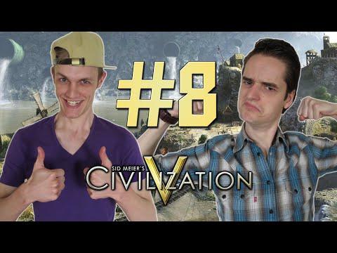 BILL GATES v/d Civilization 5 met Milan & Don #8