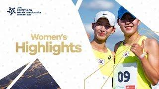Highlights   UIPM 2019 Pentathlon World Championships Final Budapest HUN – Women's Final