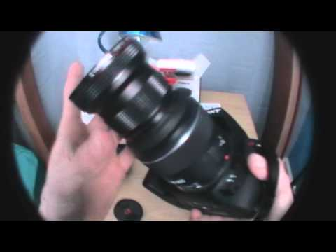Opteka HD² 0.20X Professional Super AF Fisheye Lens Unboxing | 2011 |