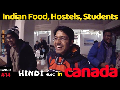 meeting Indians in Canada | Indian Food & Indian Students in HALIFAX, NOVA SCOTIA