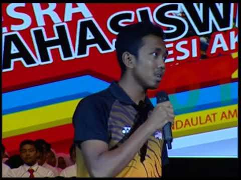 Minggu Mesra Mahasiswa UKM sesi 2017/2018 - BICARA TUNTAS (29 Ogos 2017)