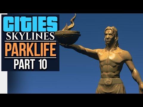 Cities: Skylines Parklife | GOVERNMENT ISLAND (#10)