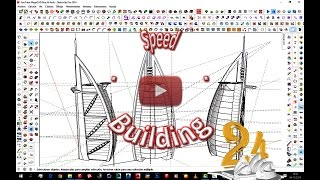Preview SketchUp Speed-Building - Proyecto 24 Burj Al Arab